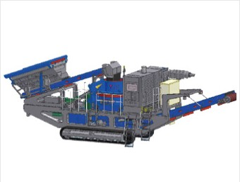 mobile VSI crusher plant